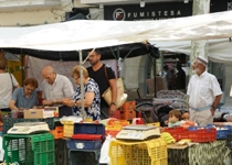 Weekly market of Sa Pobla