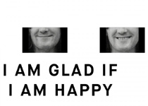 'I am glad if I am happy', de Endre Tót