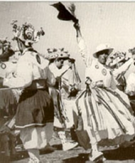 The dancing of the 'cossiers' in Algaida